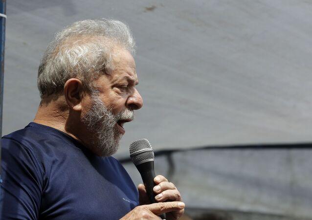 Bývalý prezident Brazílie Luiz Inácio Lula da Silva