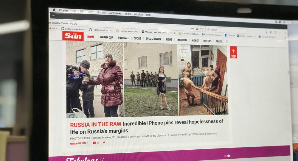 Ruský fotograf hovořil o podvodu ze strany britských novin The Sun