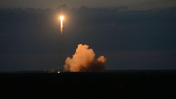 Vypuštění navigační družice Glonass-M z kosmodromu Pleseck - Sputnik Česká republika