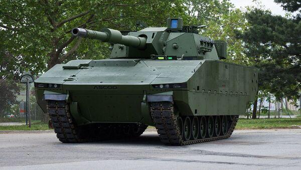 Bojové vozidlo pěchoty Ascod - Sputnik Česká republika