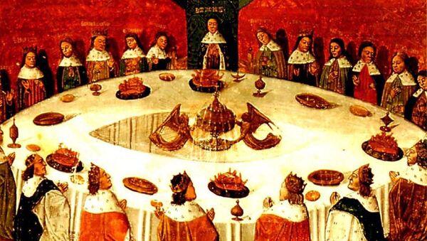 Král Artuš a rytíři u kulatého stolu - Sputnik Česká republika