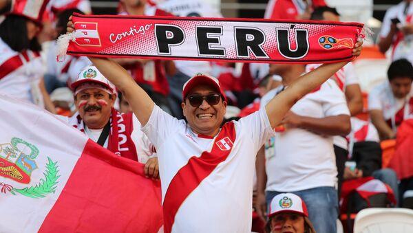 Fanoušek reprezentace Peru - Sputnik Česká republika