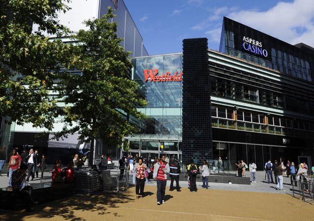 Obchodní středisko Stratford Center v Londýně