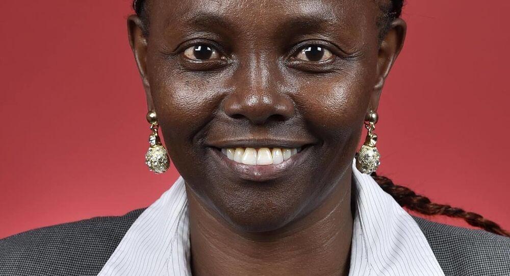 Australská senátorka Lucy Gichuhiová
