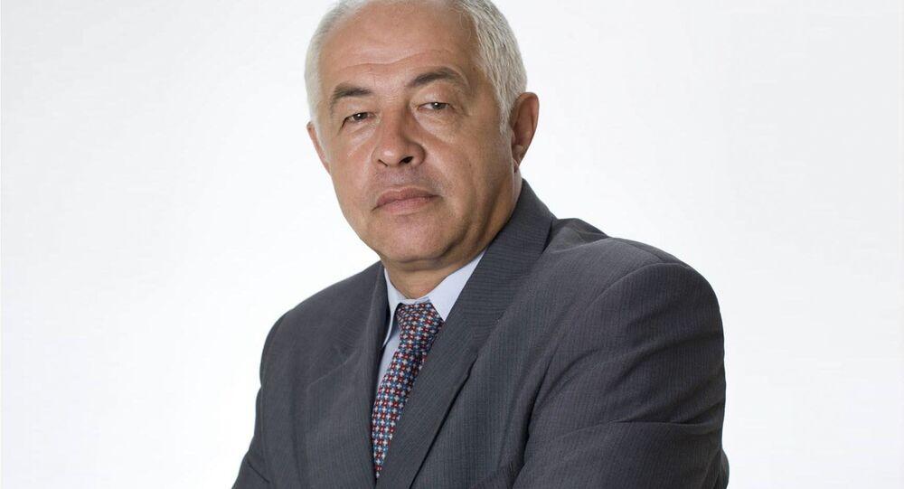 Předseda představenstva Komory pro hospodářské styky se SNS František Masopust
