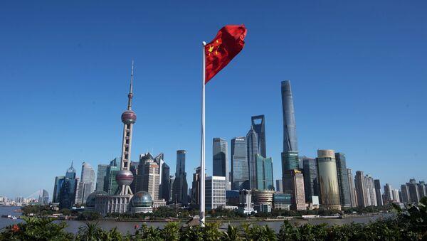 Čtvrť Pchu-tung v Šanghaji - Sputnik Česká republika