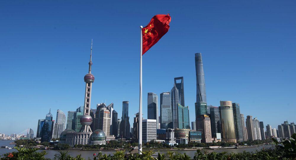 Čtvrť Pchu-tung v Šanghaji