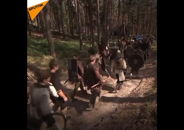 Češi rekonstruovali  slavnou bitvu pěti armád
