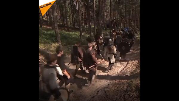 Češi rekonstruovali  slavnou bitvu pěti armád - Sputnik Česká republika
