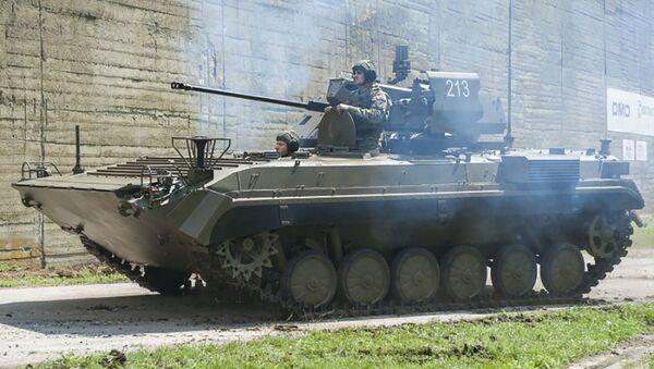 BVP-M slovenské armády - Sputnik Česká republika