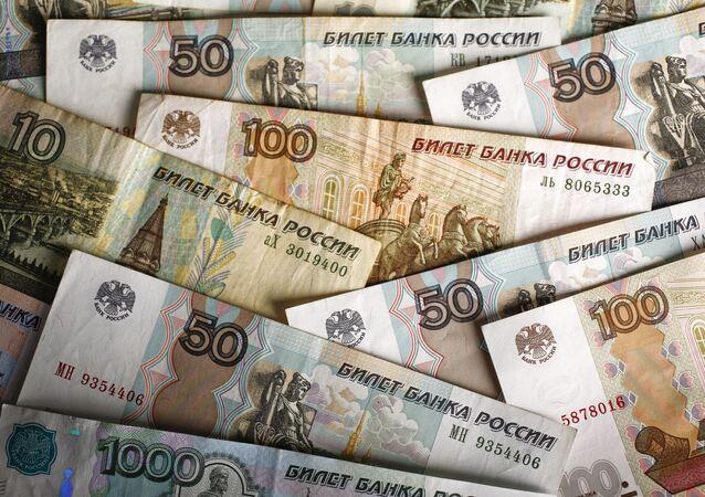 Rublové bankovky