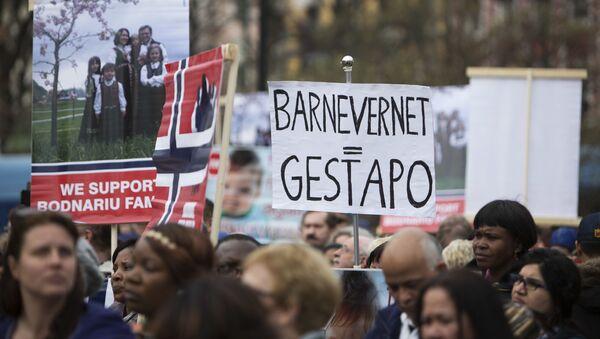 Barnevernet - Sputnik Česká republika