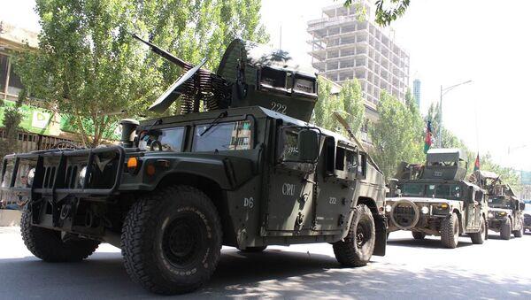 Afghánští policisté v Kabulu - Sputnik Česká republika