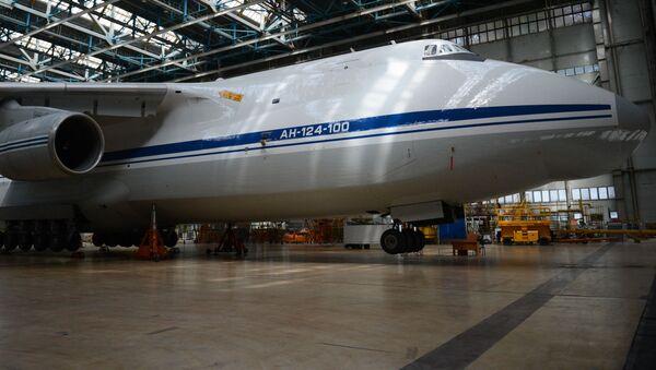 An-124 v Uljanovsku - Sputnik Česká republika