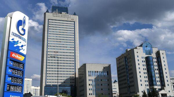 Budova společnosti Gazprom v Moskvě - Sputnik Česká republika