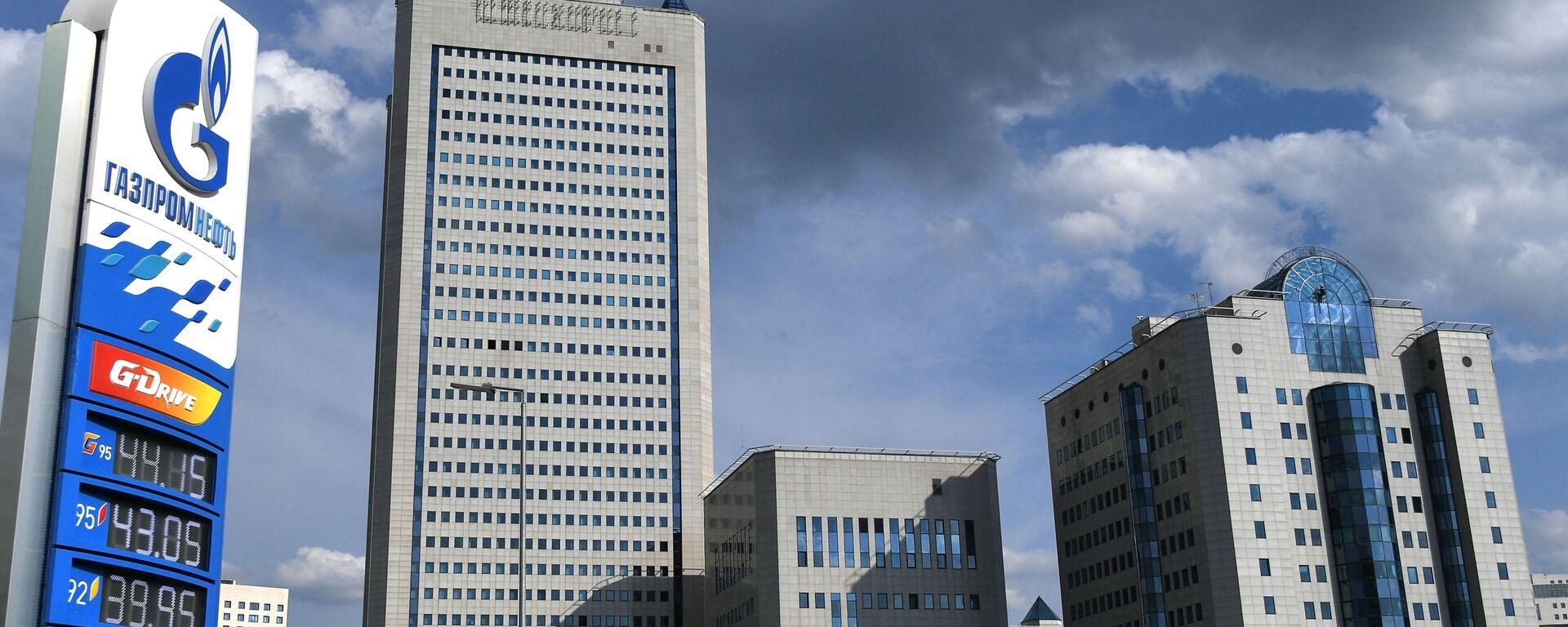 Budova společnosti Gazprom v Moskvě - Sputnik Česká republika, 1920, 22.07.2021
