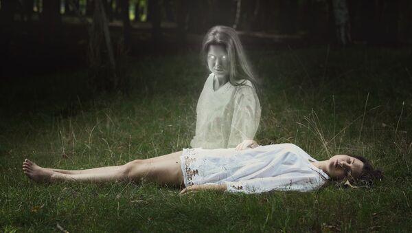 Přízrak dívky. Ilustrační foto - Sputnik Česká republika