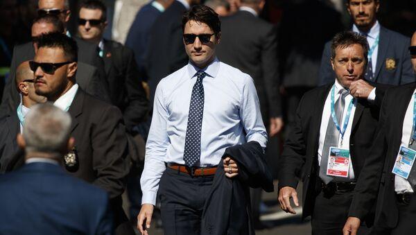 Kanadský premiér Justin Trudeau - Sputnik Česká republika
