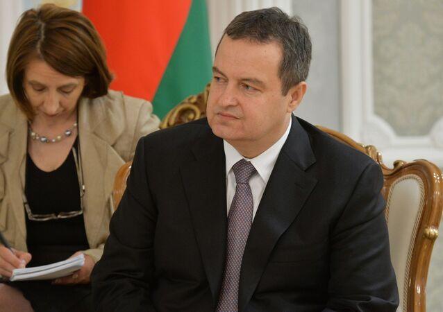 Předseda OBSE Ivica Dačič