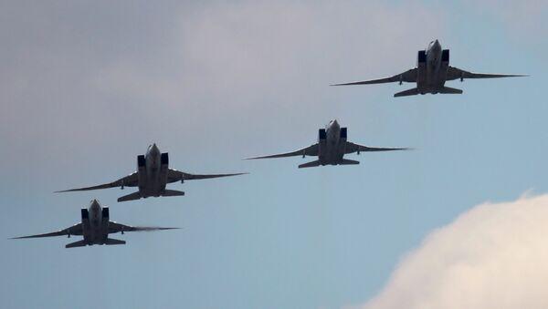 Strategické bombardéry Tu-22M3 - Sputnik Česká republika