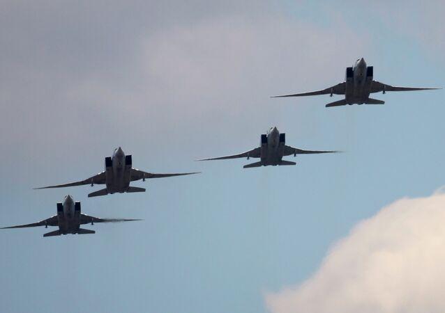 Strategické bombardéry Tu-22M3