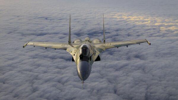 Stíhací letoun Su-35. - Sputnik Česká republika