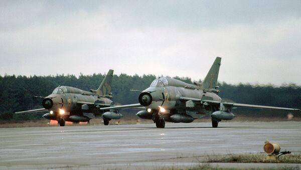 Stíhačka Su-27. - Sputnik Česká republika