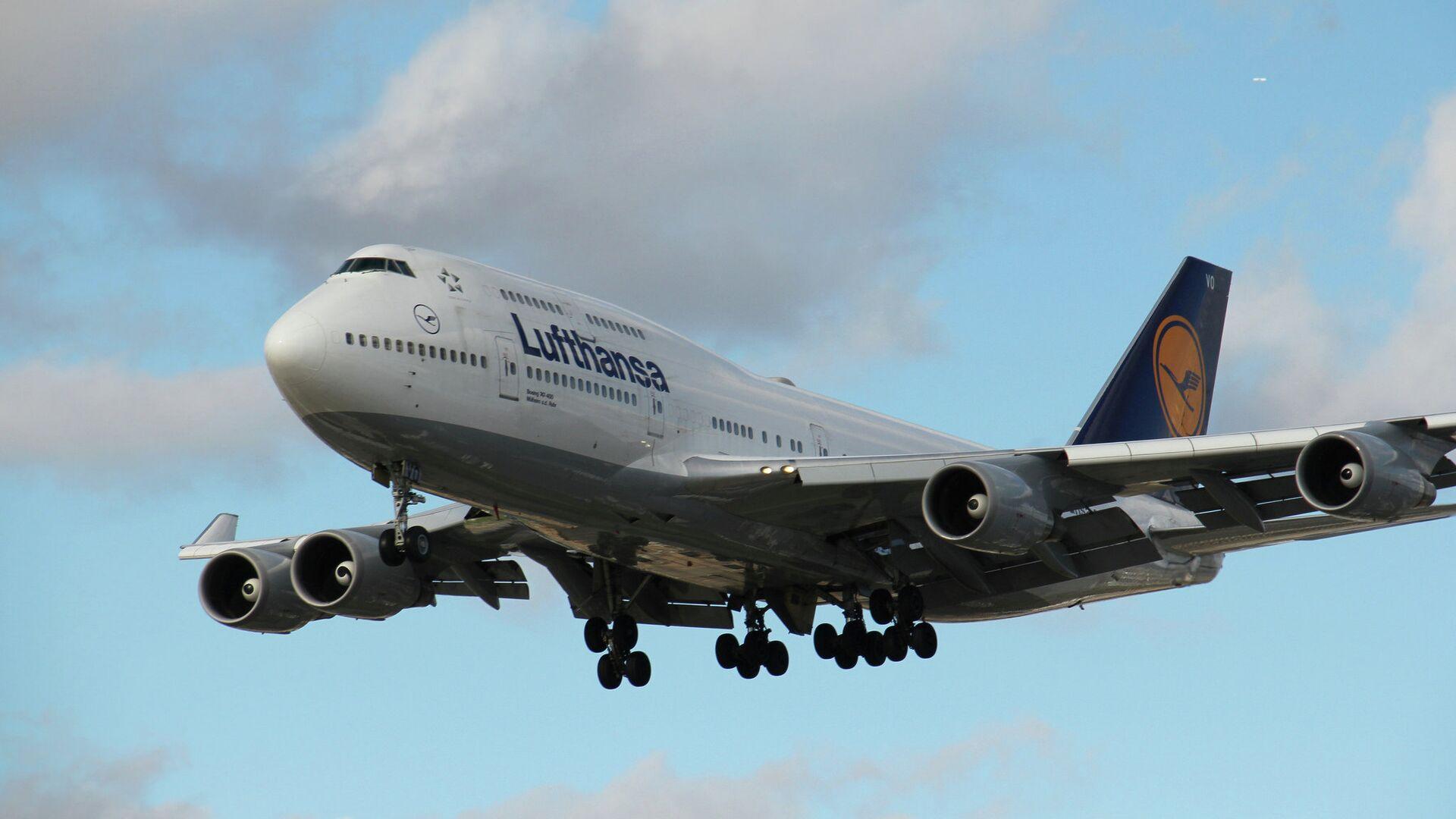 Lufthansa Boeing 747-400 - Sputnik Česká republika, 1920, 24.05.2021
