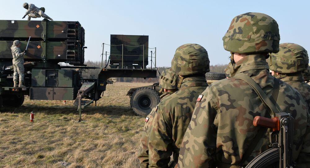 Vojenská cvičení polských a amerických vojsk