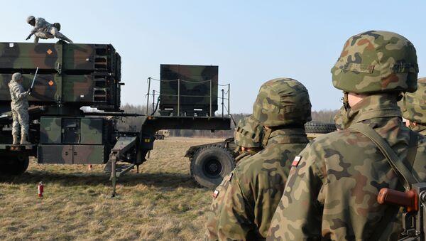 Vojenská cvičení polských a amerických vojsk - Sputnik Česká republika