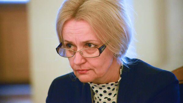 Bývalá lidová poslankyně za stranu Svoboda, jazykovědkyně a bojovnice za ukrajinský jazyk Irina Farionová - Sputnik Česká republika