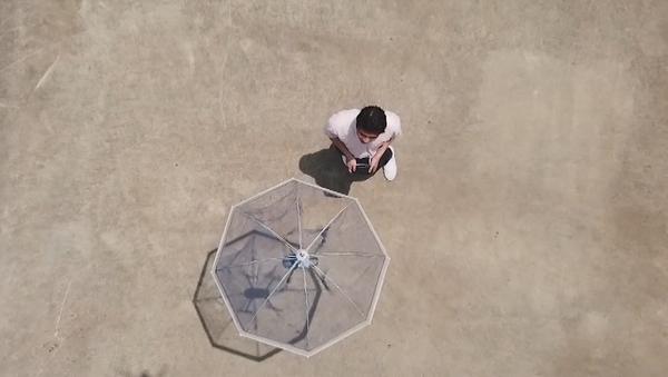 Co může bezpilotní deštník. Vynález japonských inženýrů - Sputnik Česká republika