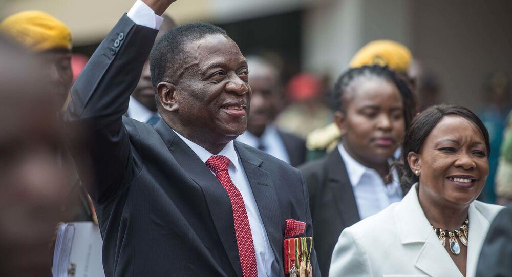 Prezident Zimbabwe Emmerson Mnangagwa