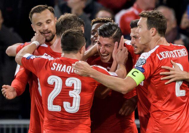 Švýcarské fotbalisty
