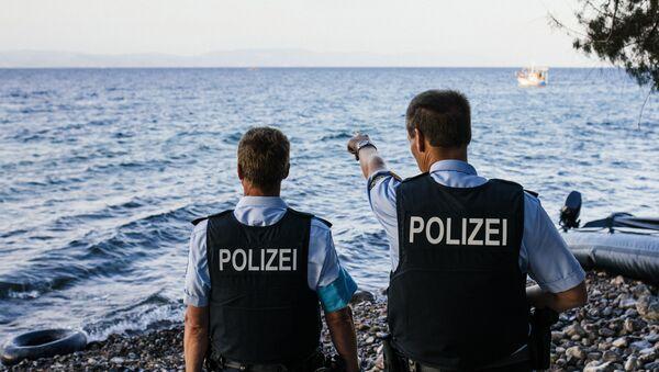 Příslušníci Frontexu. Ilustrační foto - Sputnik Česká republika