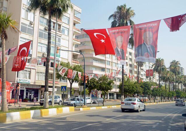 Turecko během voleb
