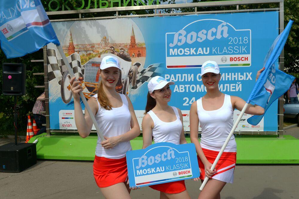 Rally starých aut Bosch Moskau Klassik