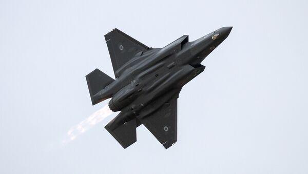 Izraelská stíhačka F-35 Lightning - Sputnik Česká republika