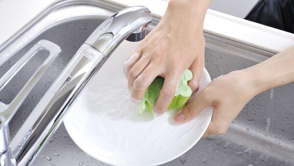 Dívky myje nádobí - Sputnik Česká republika