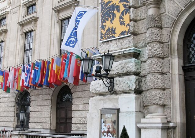 Sídlo OBSE ve  Vídni