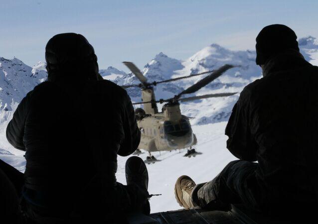 Američtí vojáci na Aljašce