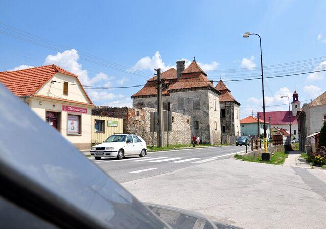 Město Trstín na Slovensku