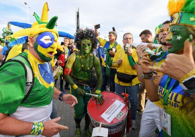 Brazilští fanoušci