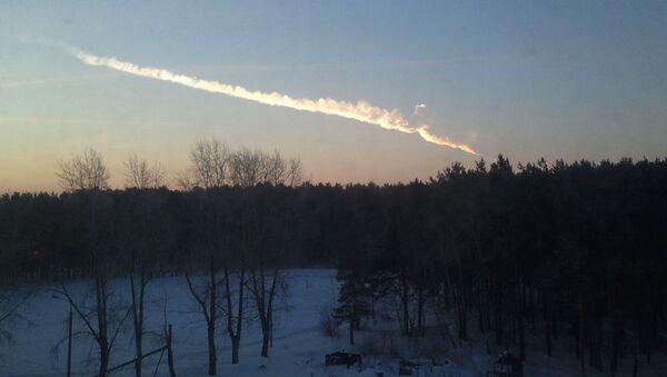 Pád meteoritu v Čeljabinsku, archivní foto - Sputnik Česká republika