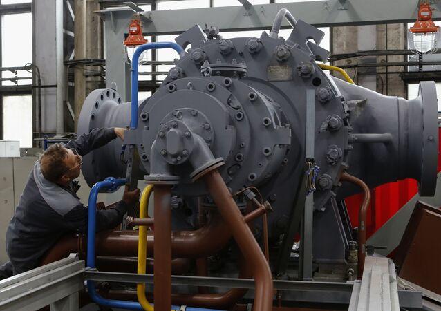 Montování turbín