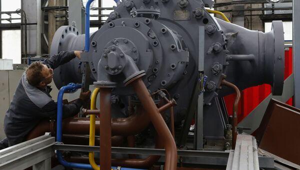 Montování turbín - Sputnik Česká republika