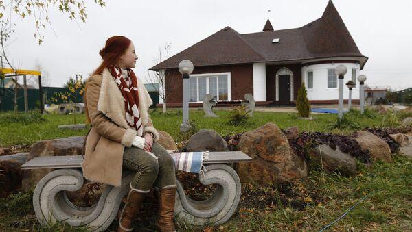 První dům, který postavili v Rusku pomocí 3D tiskárny - Sputnik Česká republika