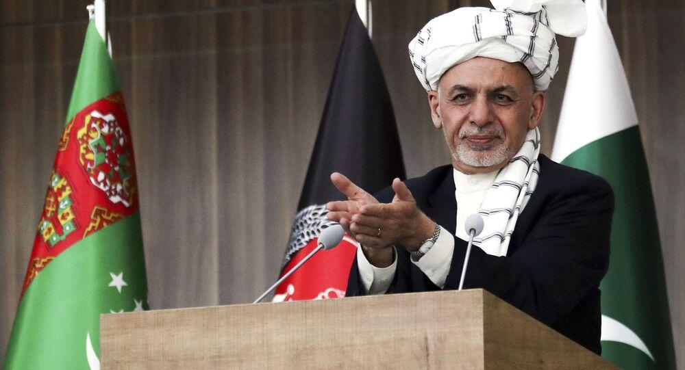 Prezident Afghánistánu Ašraf Ghaní