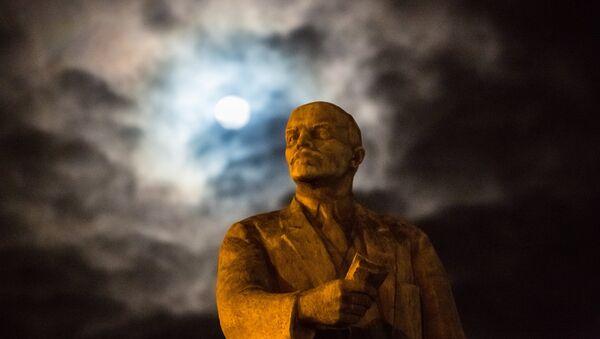Lenin monument. File photo - Sputnik Česká republika