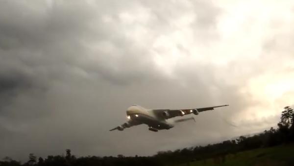 Přízemní let An-225 Mrija byl natočen na VIDEO - Sputnik Česká republika